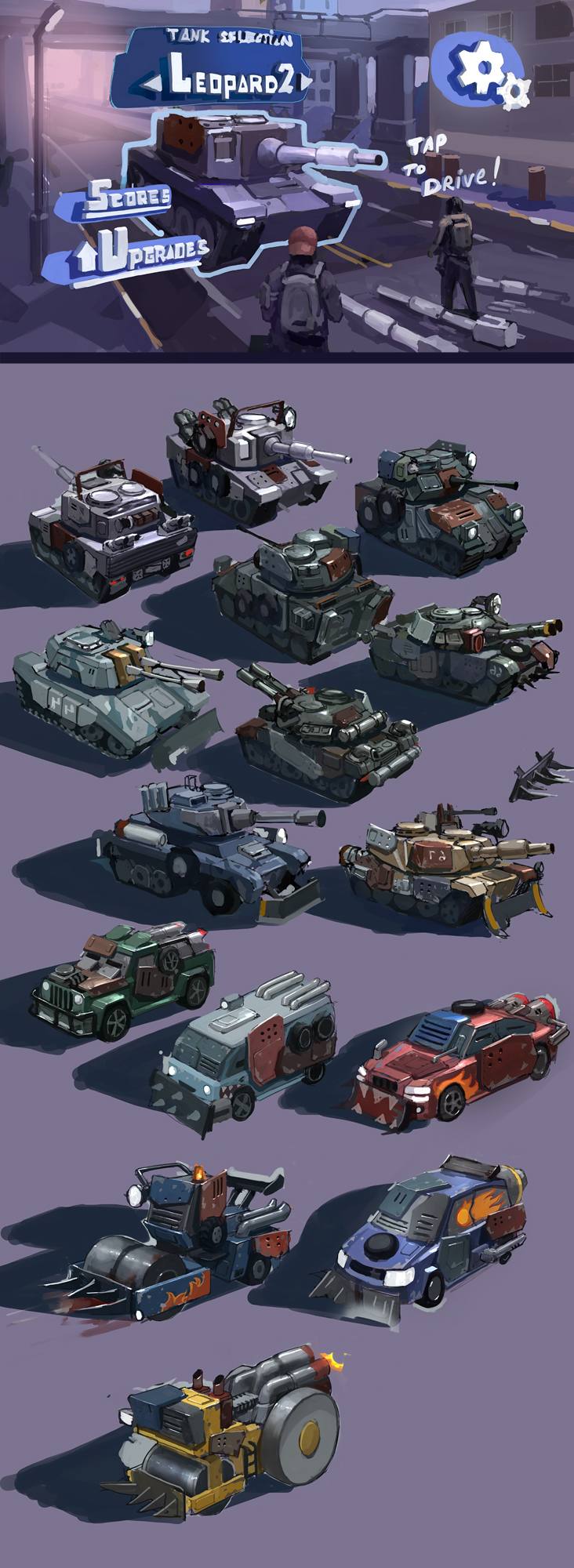 tanks tanks by JimHatama