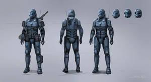 Light armor concept