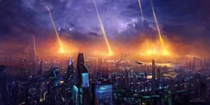Planetary bombardment 2