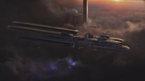 Red Empire battleship