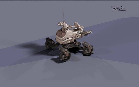 Mars Rover sketches