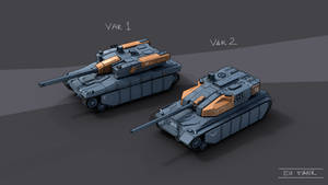 RTS tank sketch