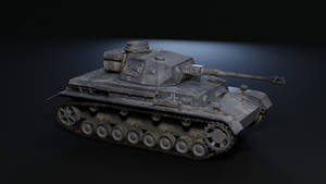 Panzer 4 - low poly