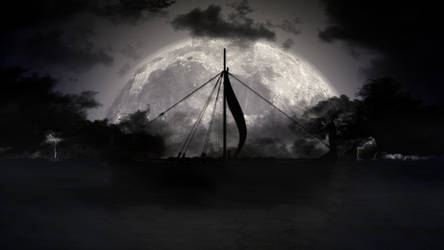Viking Moon by WitchicusRex