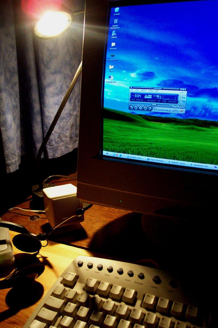DJ Gruny - my Desk by djgruny