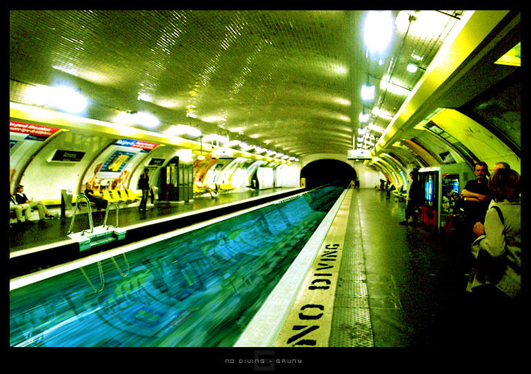 No Diving by djgruny