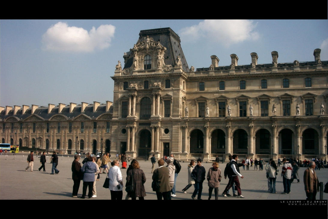 Le Louvre Nord by djgruny