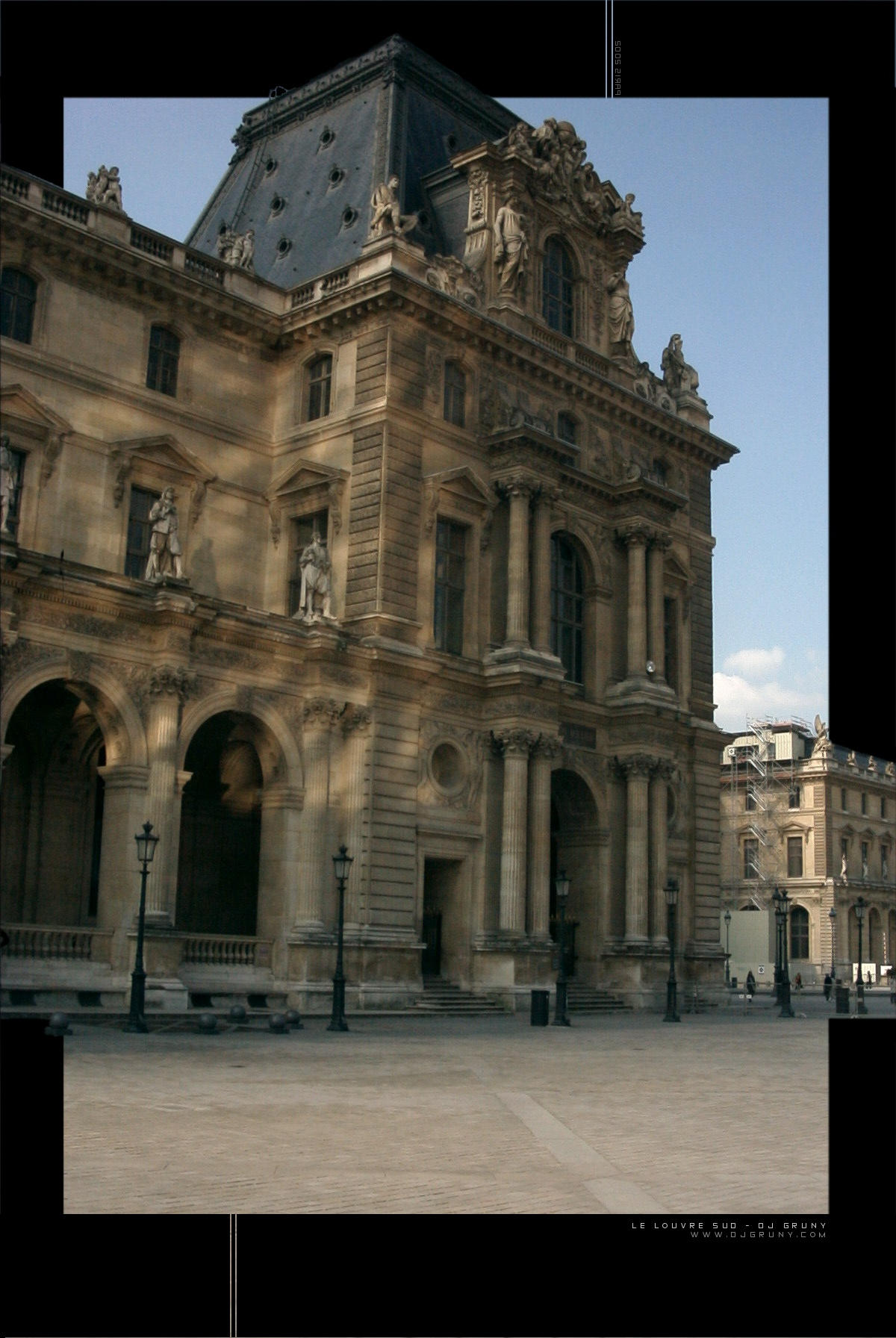 Le Louvre Sud by djgruny