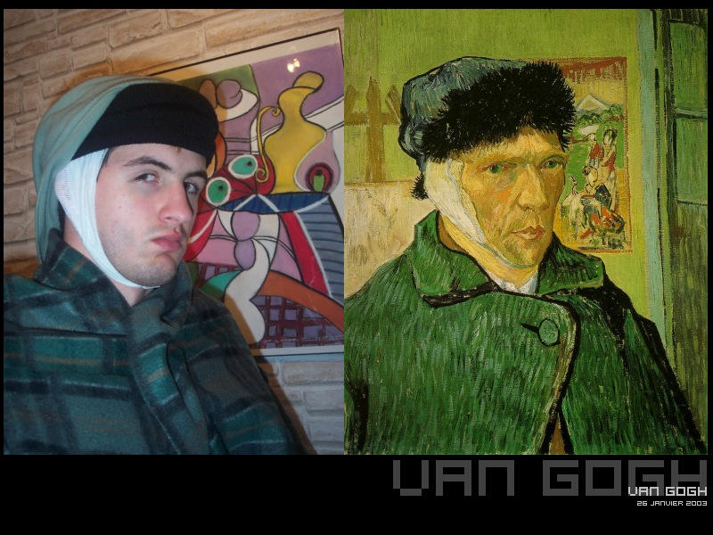 Van gogh  2003 Edit by djgruny