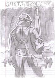 saints and soldiers sketch by Aaron-Ir0nPh0enix