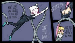 Spider Gwen Atomic Wedgie