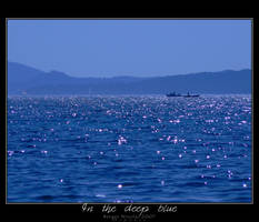In the deep blue