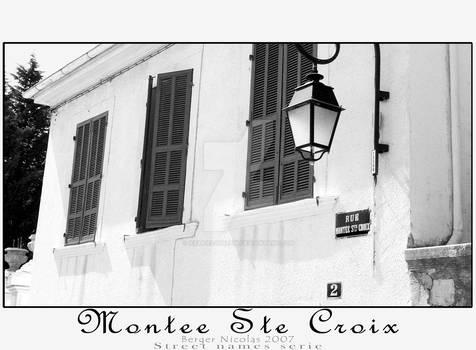 Street Names_Montee Ste Croix