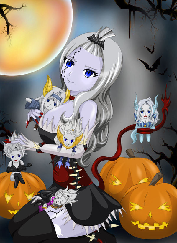 Happy Halloween from Mirajane by Mirajanee