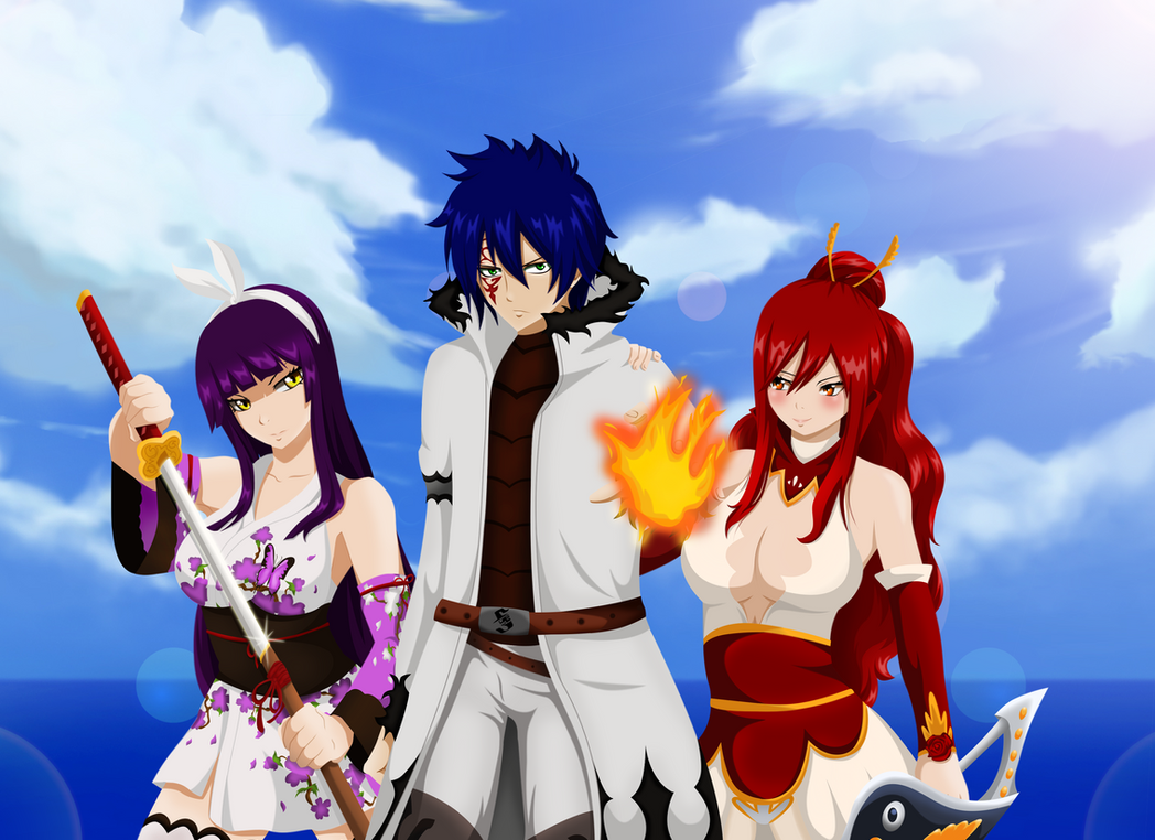 We'll bring justice upon you/Jerza Kagura fight by ...