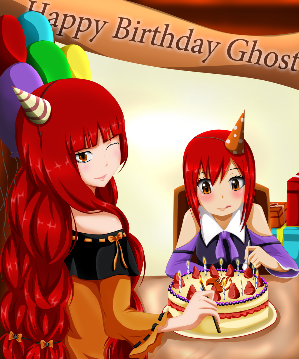 Birthday Party With Erza And Eileen By Mirajanee