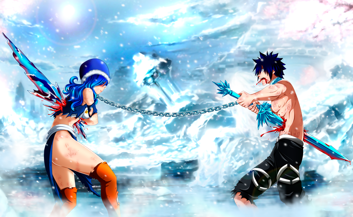 I Could Never Hurt You Gruvia Sacrifice FT499 By Mirajanee
