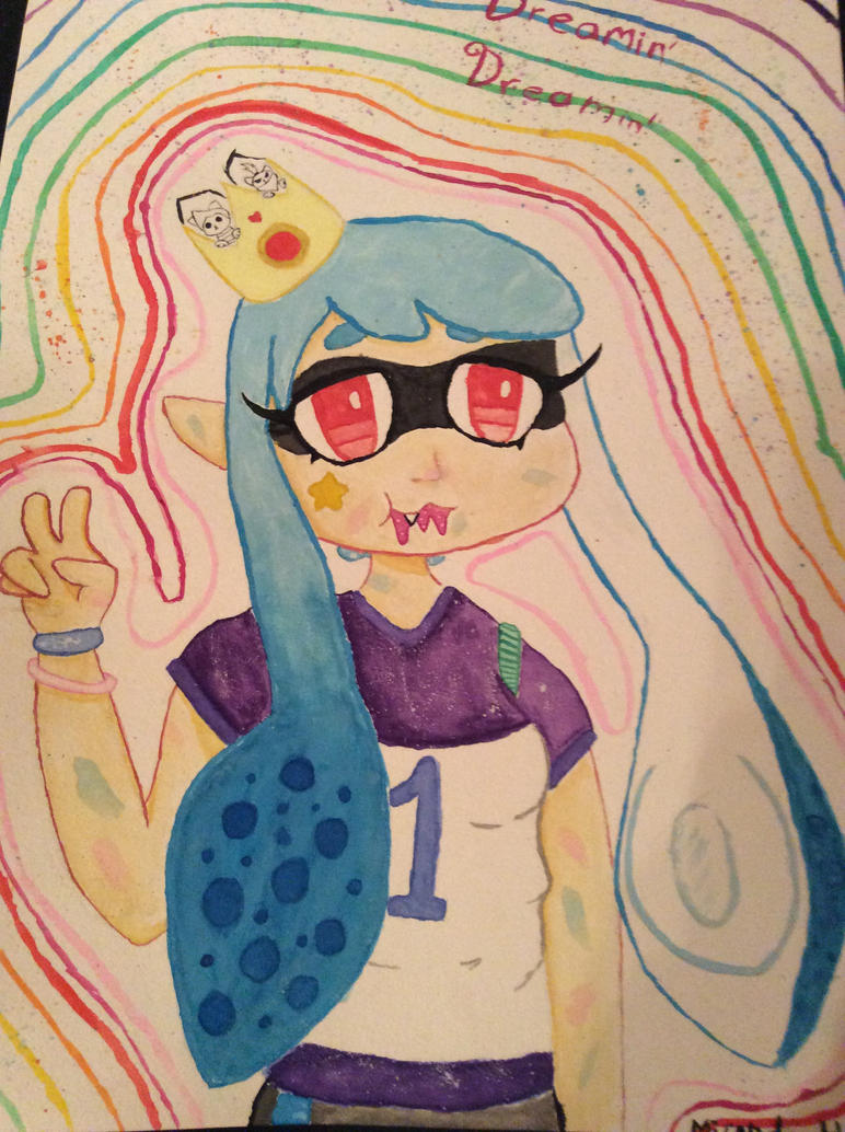 Jelly the Squid Kid by CatBunnie