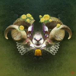 Dream of Sheep by m-chloe
