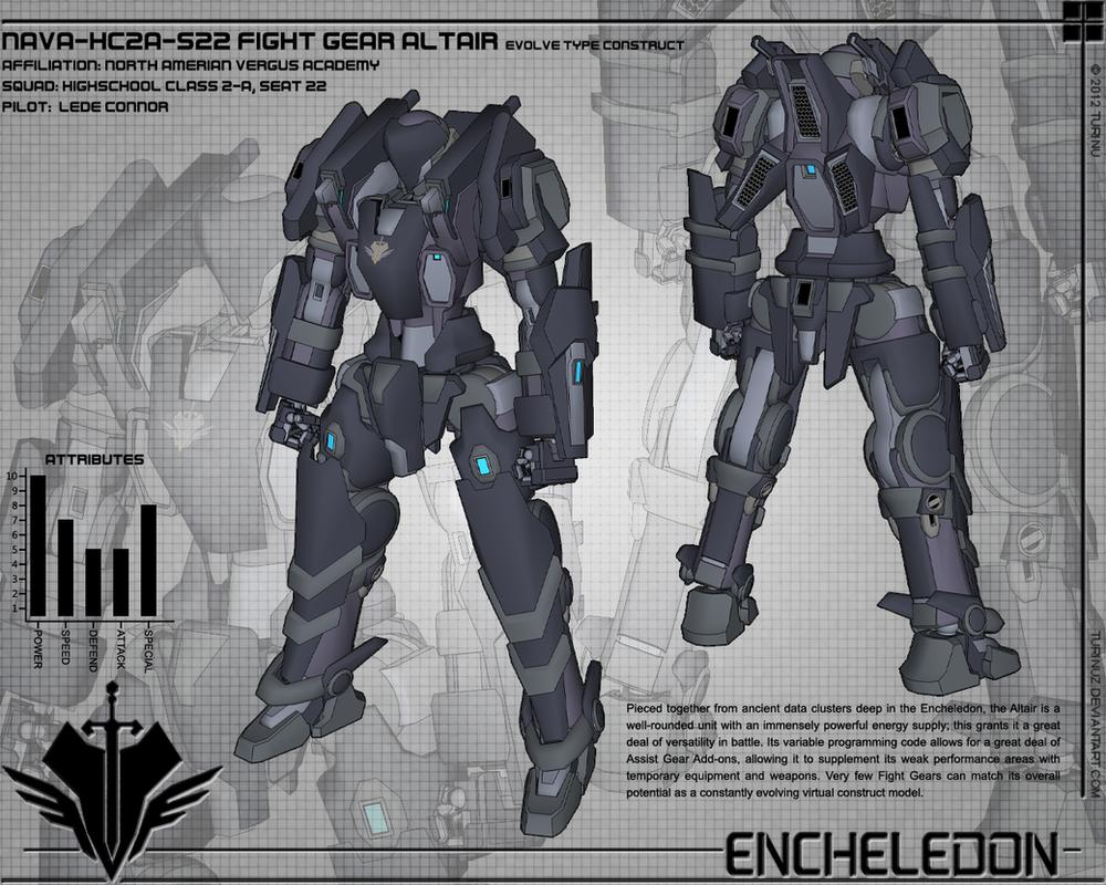 Fight Gear Altair Design 01 by TurinuZ