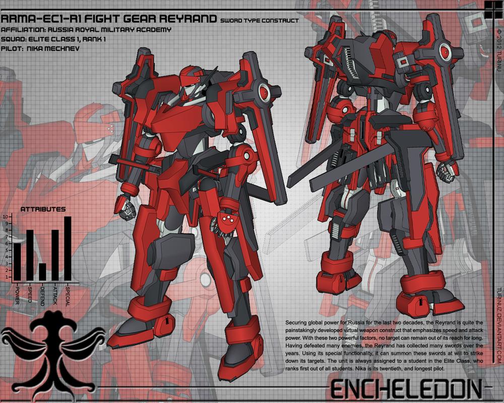Fight Gear Reyrand Design 01 by TurinuZ