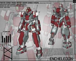 Fight Gear Daeg Hagal Design 01 by TurinuZ