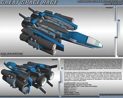 Great Space Race - Aquamarine