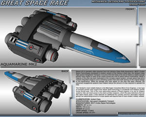 Great Space Race - Aquamarine Mk. 2