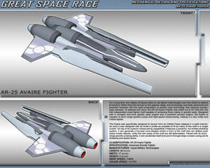 Great Space Race - AR-25 Avaire Fighter