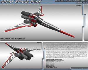 Great Space Race - Hachidori Fighter