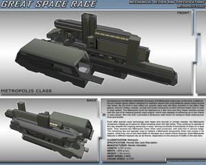 Great Space Race - Metropolis Class