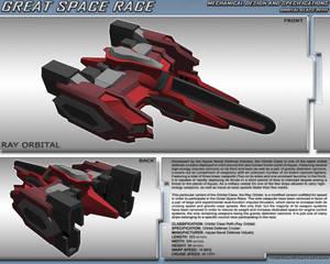 Great Space Race - Ray Orbital