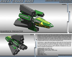Great Space Race - Shamrock Freighter