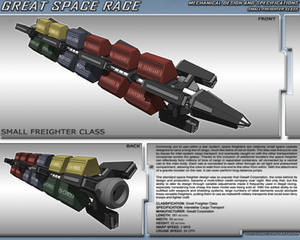 Great Space Race - Space Freighter