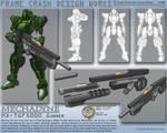 Mechadyne - Gunner Frame