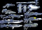 Frame Crash - Weapon Set 01 - 2014