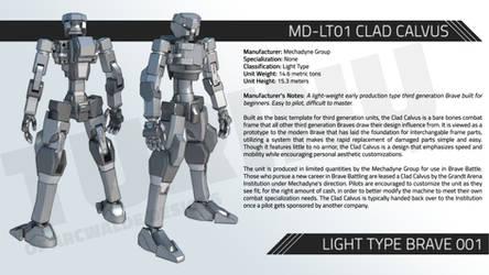 MD-LT01 CLAD CALVUS