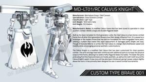 MD-LT01/RC CALVUS KNIGHT by TurinuZ