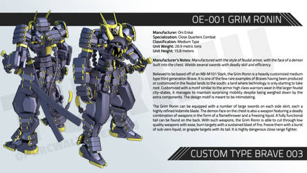 OE-001 GRIM RONIN