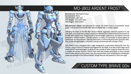MD-JB02 ARDENT FROST
