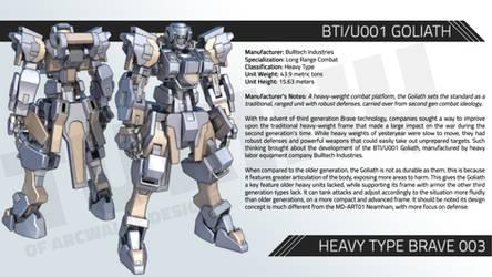 BTI/U001 GOLIATH