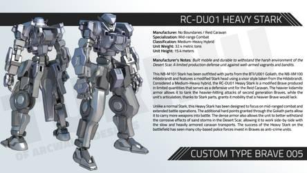 RC-DU01 HEAVY STARK