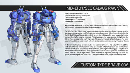 MD-LT01/SEC CALVUS PAWN
