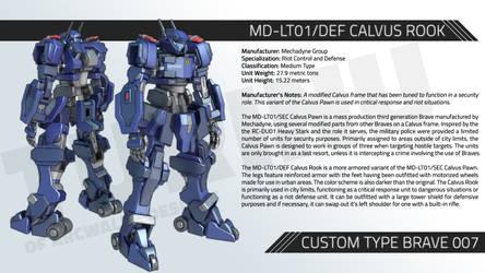 MD-LT01/DEF CALVUS ROOK