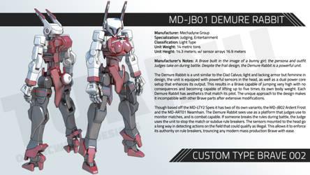 MD-JB01 DEMURE RABBIT