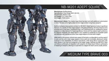NB-M201 ADEPT SQUIRE