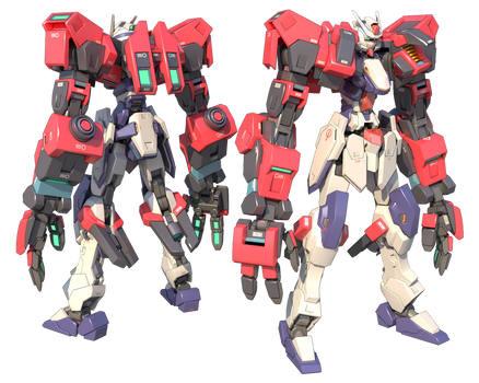 GMX-397-05/JA Gundam Durandal Ogre