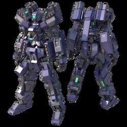 GMX-399-12/M Gundam Rhongomiant Missile by TurinuZ