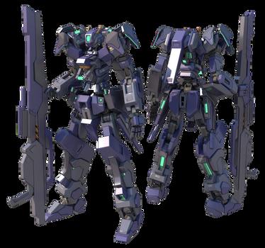 GMX-399-12 Gundam Rhongomiant by TurinuZ