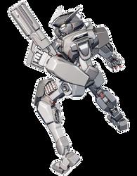 AM-X403 Maxwell, Shotgun Pose